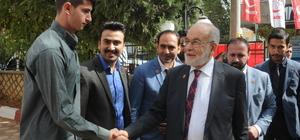 Saadet Partisi Genel Başkanı Karamollaoğlu Mardin'de