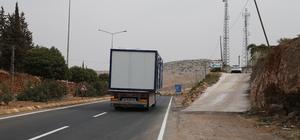 Suriye sınırındaki askeri birliklere konteyner sevkiyatı