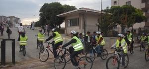 """""""Haydi Çocuklar Bisikletle Okula"""" projesi"""