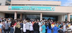 Iğdır'da doktorun bıçaklı saldırıda yaralanması