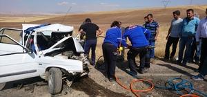 Kangal'da trafik kazası: 1 ölü, 9 yaralı