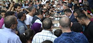 Görevlendirme yapılan belediyeden 2 bin vatandaşa aşure ikramı