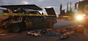 Manisa'da trafik kazası: 1 ölü, 4 yaralı