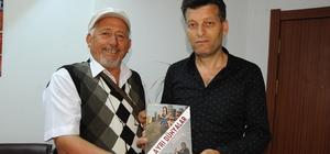 Kitap yazan eski çobandan kanser hastasına anlamlı bağış