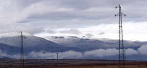 Kars'a mevsimin ilk karı yağdı