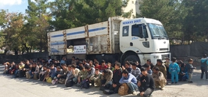Siirt'te 88 yabancı uyruklu yakalandı