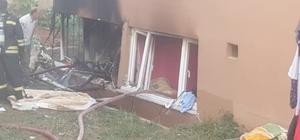 Kocaeli'de doğal gaz patlaması: 2 yaralı