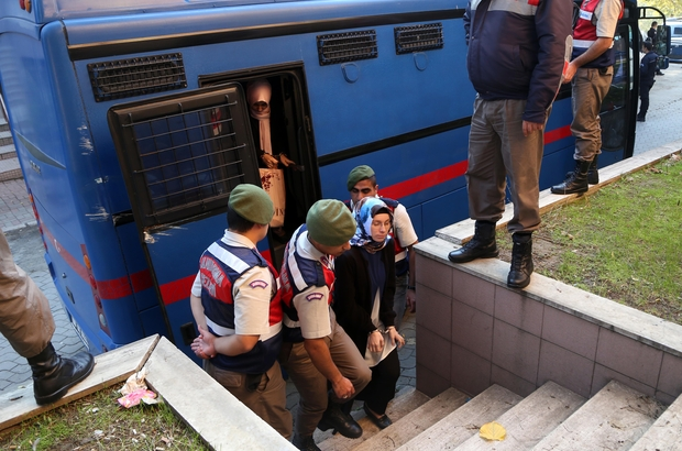 """Tekirdağ'da """"FETÖ'nün kadın yapılanması"""" davası başladı"""