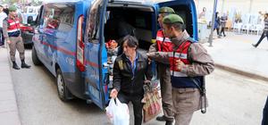 Çankırı'da 17 kaçak göçmen yakalandı
