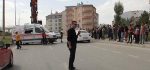 Sivas'ta ambulansla otomobil çarpıştı: 1 ölü, 2 yaralı