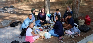 Bitlis'te kadın ve çocuklar için piknik