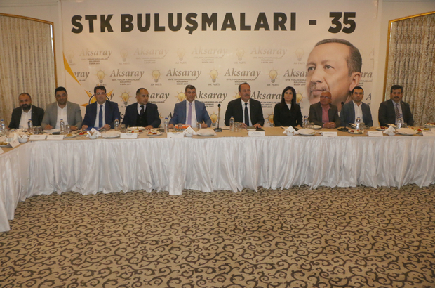 """Aksaray'da """"Sivil Toplum Buluşmaları"""" programı"""
