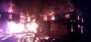 Bolu'da yangın