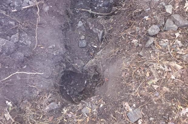 Terör örgütüne ait depoda patlayıcı bulundu