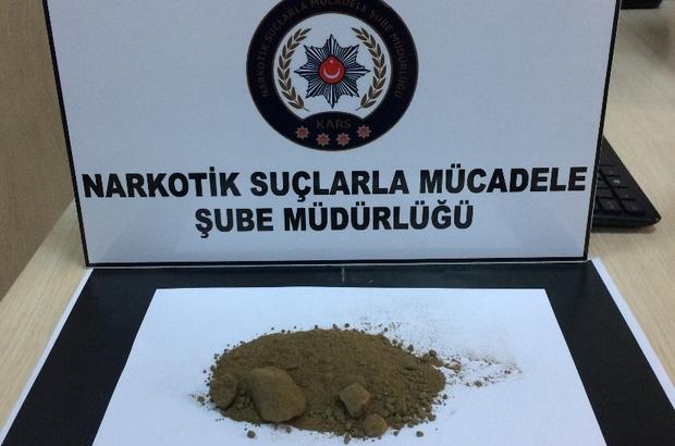 Kars'ta uyuşturucu satıcılarına yönelik operasyon