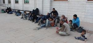 Hatay'da yabancı uyruklu 25 kişi yakalandı