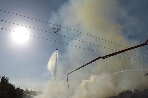 GÜNCELLEME - Kahramanmaraş'ta kağıt ve ambalaj fabrikasındaki yangın  DETAYLAR VE SÖNDÜRME ÇALIŞMALARI EKLENDİ