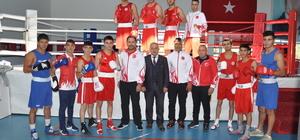 Genç milli boksörlerin Kastamonu kampı sona erdi