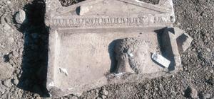 Bursa'daki kaçak kazıda 2 bin yıllık mezar steli