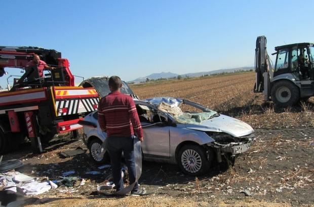 Adana'da otomobil dereye devrildi: 2 ölü
