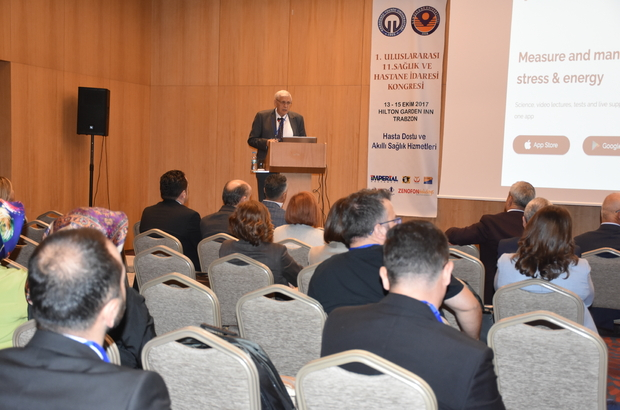 Trabzon'da 1. Uluslararası 11. Sağlık ve Hastane İdaresi Kongresi