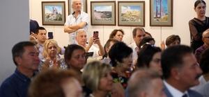 """Mersin'in UNESCO listesindeki eserleri """"fotopentür tekniğiyle"""" canlandı"""