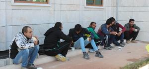 Hatay'da 7 yabancı uyruklu yakalandı