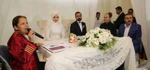 AK Parti Genel Başkan Yardımcısı Ünal nikah şahidi oldu