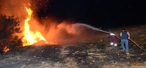 Manavgat'ta orman ve arazi yangınları