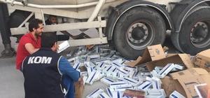 Adıyaman'da kaçak sigara operasyonu