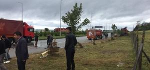Giresun'da minibüs ile tır çarpıştı: 14 yaralı