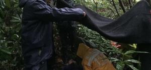 Ormanlık alanda mahsur kalan kişi kurtarıldı