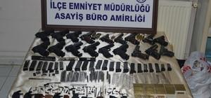 Adana'da silah kaçakçılığı operasyonu