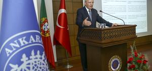 Portekiz Dışişleri Bakanı Silva Ankara'da: