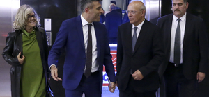 CHP Genel Başkanı Kılıçdaroğlu'nun kabulü