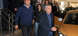 Rıza Çalımbay, Trabzon'a geldi