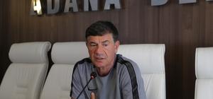 Adana Demirspor Teknik Direktörü Bulak: