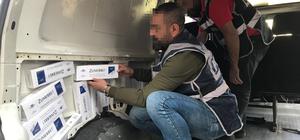 Başkentte sigara kaçakçılığı operasyonu