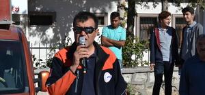 Aksaray'da deprem tatbikatı