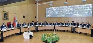 Emniyetin koordinasyon toplantısı