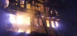 Bolu'da ev yangını: 1 ölü