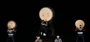Japon Davul grubu ''Ondekoza'' Bursa'da sahne aldı