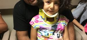 Antalya'da rögara düşen çocuğu itfaiye ekipleri çıkardı