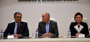 TBMM Tarım, Orman ve Köyişleri Komisyonu üyeleri Karaman'da