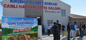 Kırşehir'de 462 damızlık düve dağıtıldı