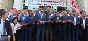 TOBB Başkanı Hisarcıklıoğlu Hatay'da