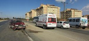 Gaziantep'te trafik kazası: 4 yaralı