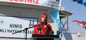 Erzurum'da toplu açılış töreni