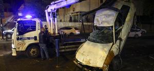 Başkentte trafik kazası: 4 yaralı