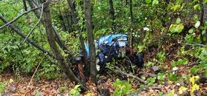 Kütahya'da traktör şarampole devrildi: 1 ölü
